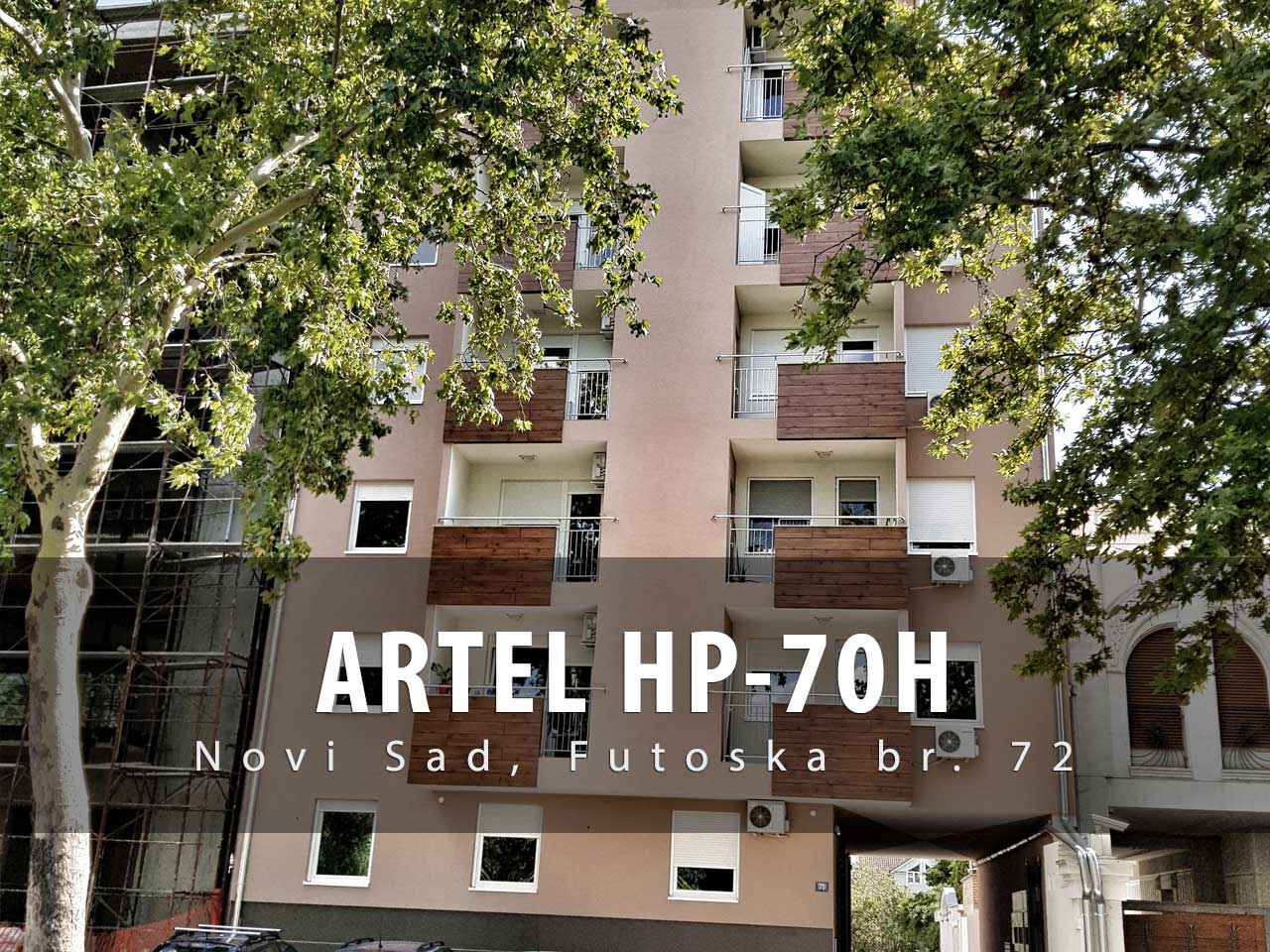 toplotne pumpe voda-voda ARTEL HP-70H