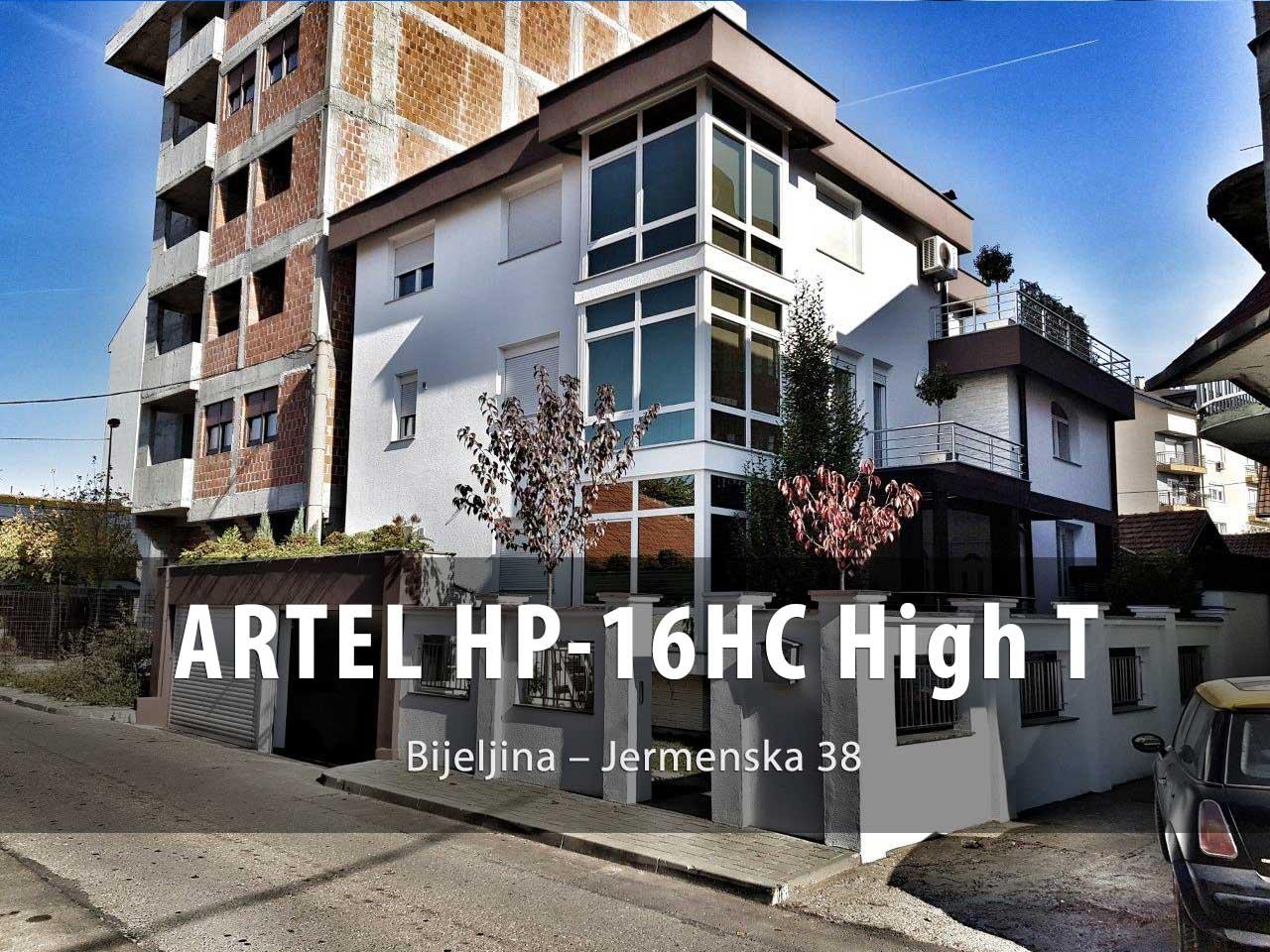 Toplona pumpa Artel HP-16HC HT