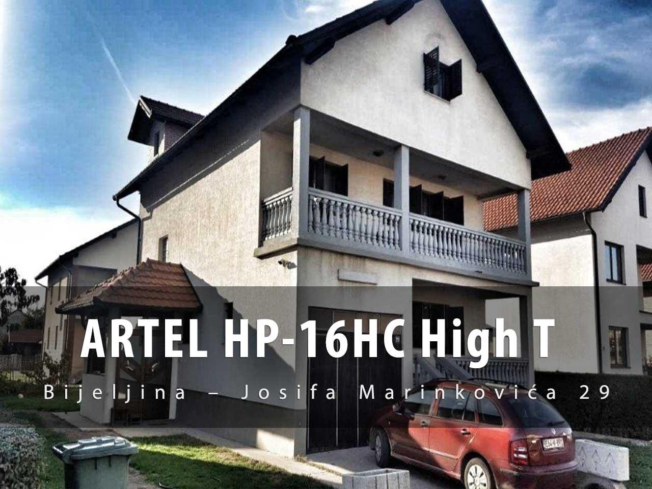 Toplotna pumpa Artel HP-16H HT
