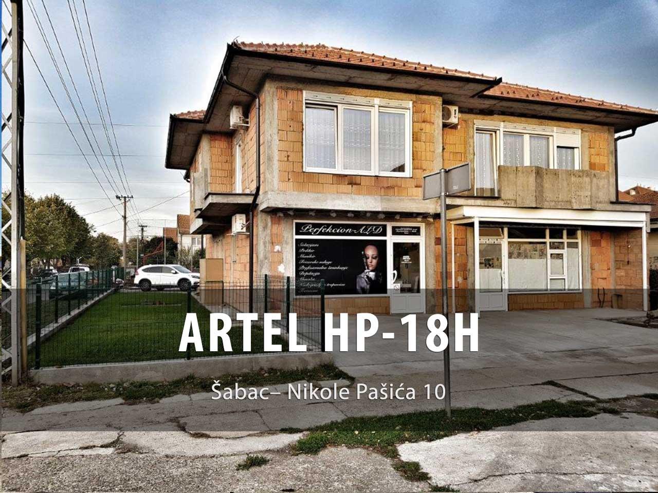 Toplotna pumpa ARTEL HP-18H