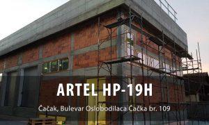 toplotna pumpa voda-voda ARTEL HP-19H