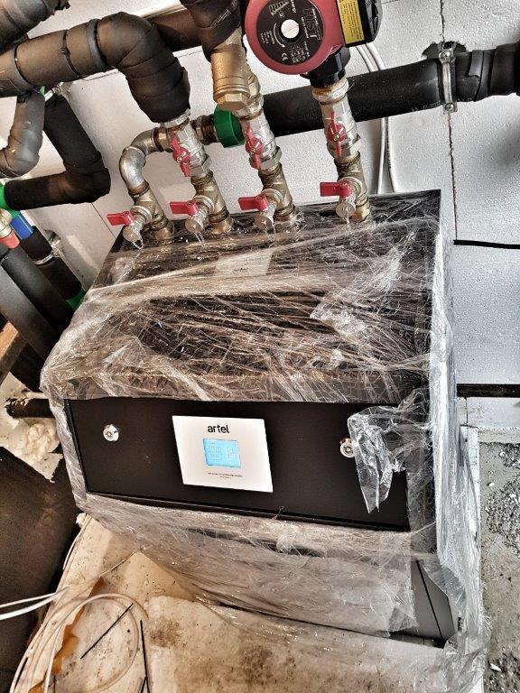 toplotne pumpe voda-voda ARTEL HP-21HC
