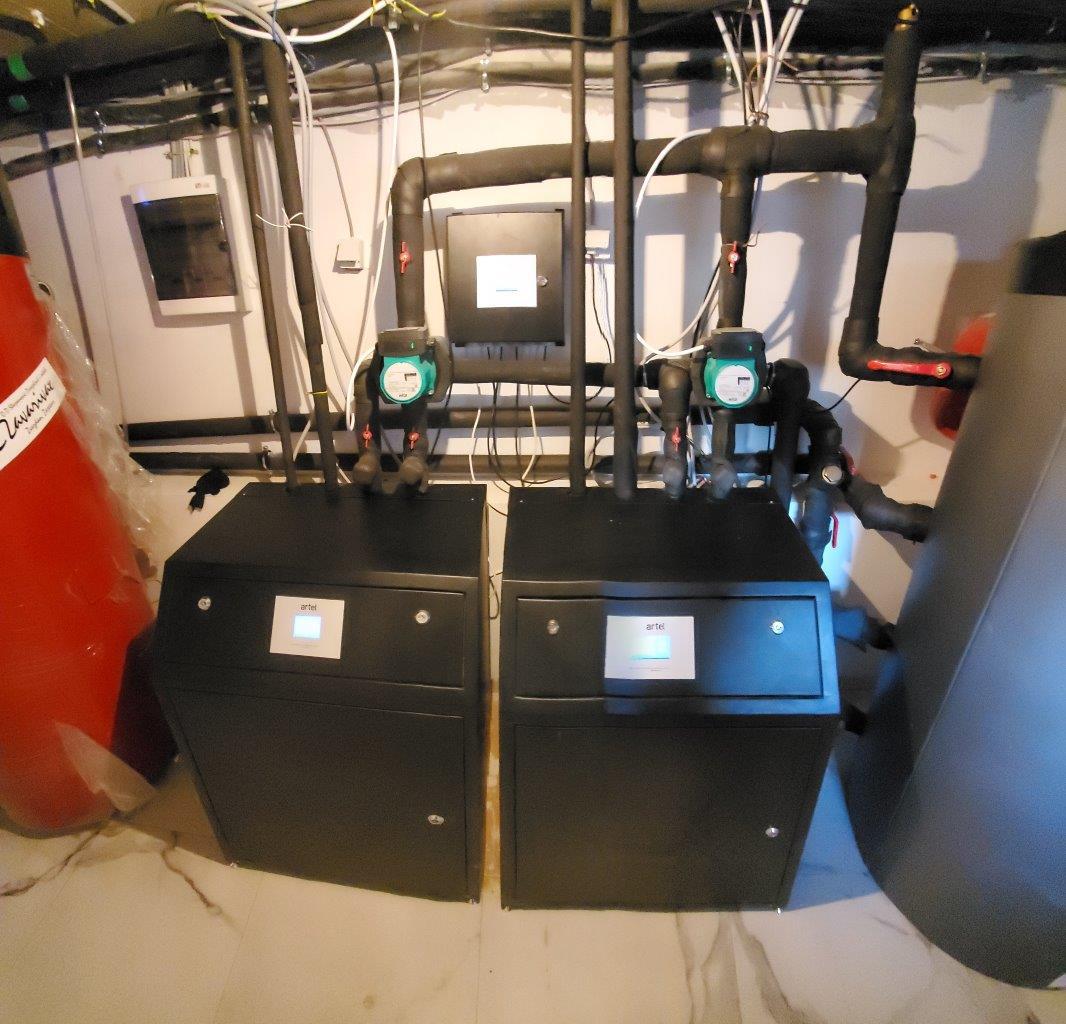 Toplotna pumpa vazduh voda ARTEL HP-2x12HC air