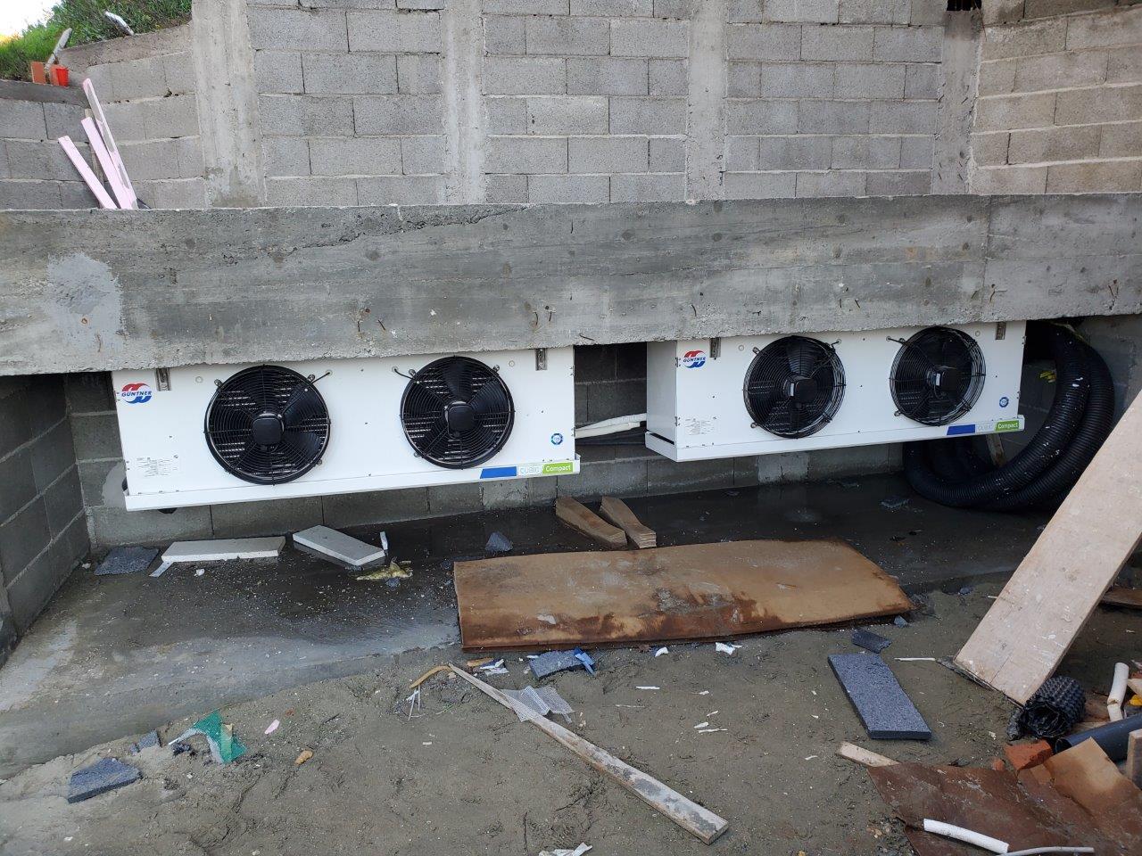 Vazdusni izmenjivaci ARTEL toplotne pumpe vazduh voda